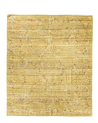 BNomadic Authentic Kilim Suzanni One-of-a-Kind Rug, Yellow, 8′ x 9′ 3″