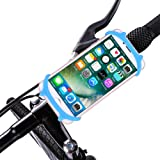Onepine Bike Motorcycle Phone Mount Holder Universal Adjustable Silicone Bicycle Handlebar Mount for iPhone X/8/7/6S/8Plus/7Plus Samsung Galaxy S9/S8