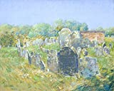 The Museum Outlet - Colonial Graveyard at Lexington, 1891 - Canvas Print Online Buy (30 X 40 Inch)