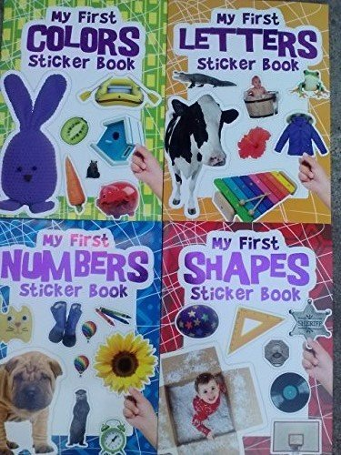 My First Sticker Book Collection (Assorted, Titles & Quantities Vary) - 1