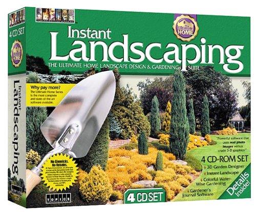 Instant Landscaping 4 Cd Rom Home Garden Household