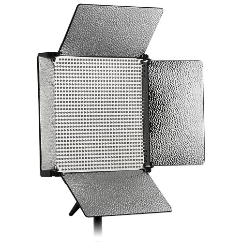 2nd Gen Fancier LED 1000 (LED1000) Light Panel for Photo/Video Studio Lighting with 4-Bank Output Control switches
