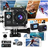 Indigi® Sports DV Action Camera 1080p HD Video Recording Camcorder Waterproof Dustproof -New WiFi Version-