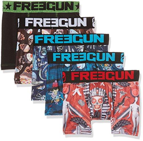 Freegun Packx5, Boxer Bambino, Mehrfarbig (Multicolor A2), 12 anni ( pacco da 5 )