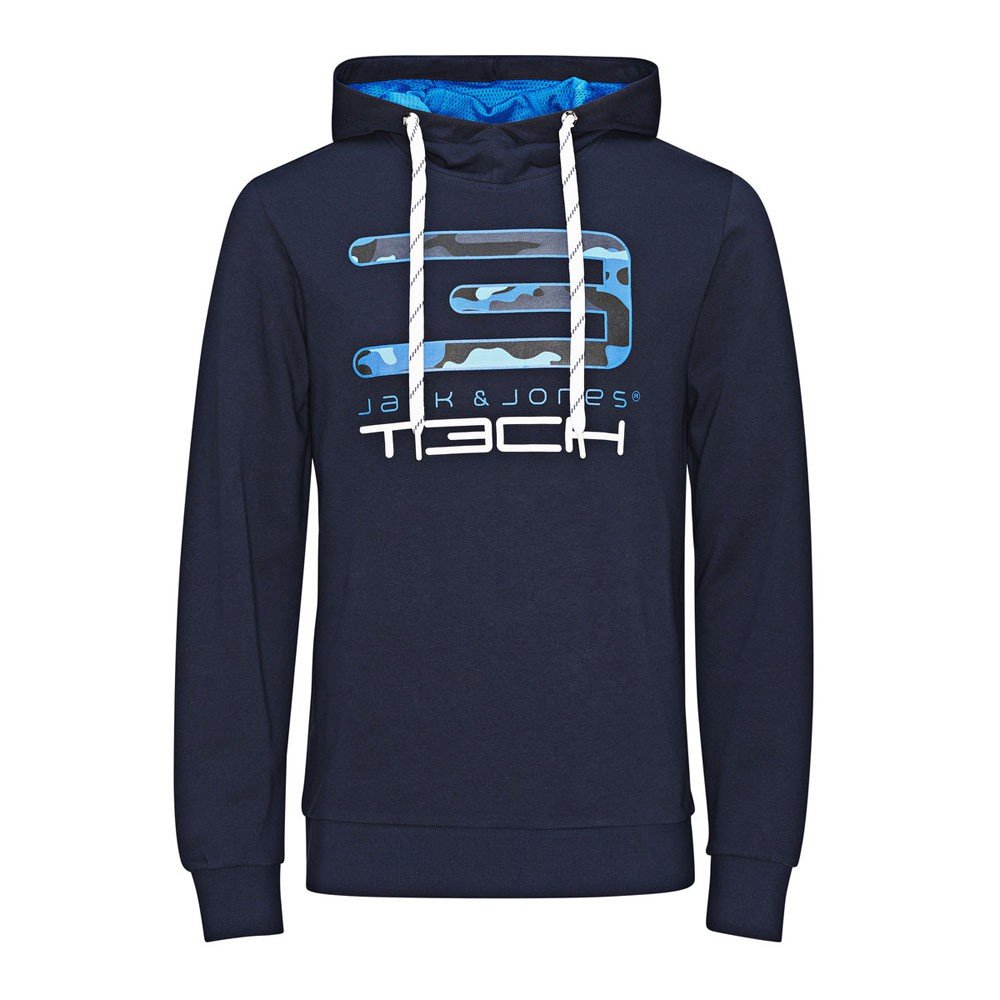 Jack & Jones Tech Herren Sweatshirt Vivid Sweat Hood günstig kaufen