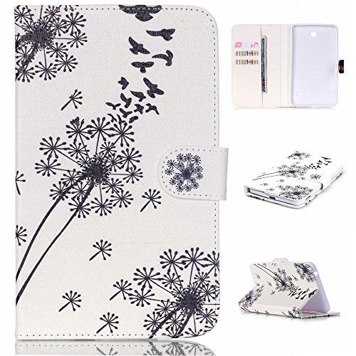 patterned-leather-card-slots-tasche-hullen-schutzhulle-cover-fur-samsung-galaxy-tab-4-70-t231-dandel
