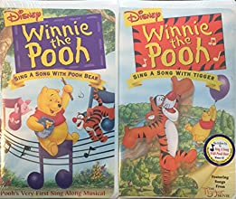 Winnie the Pooh 2 Pack Sing A Song With Pooh Bear amp Sing A Song With Tigger