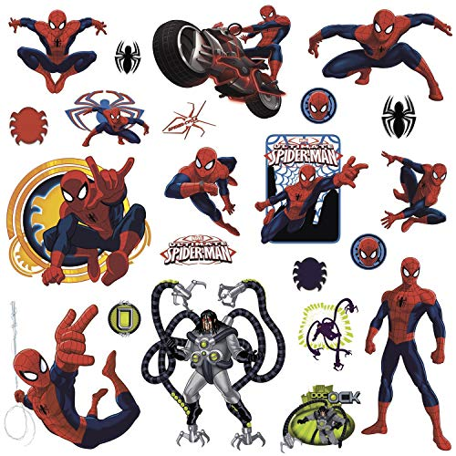 RoomMates Ultimate Spiderman Applique (Multi color)