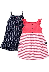 Carter's Baby Girls' 2 Pack Dresses with Panty (Baby)