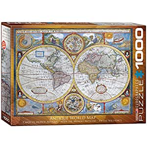 Eurographics New and Accurate Map of The World-1000 Piece Puzzle