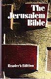The Jerusalem Bible (0385011563) by Jones, Alexander