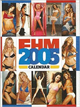 2005 adult calendar in uniform woman