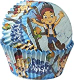 Wilton Industries 415-2823 50 Count Disney Jake and The Never Land Pirates Baking Cups