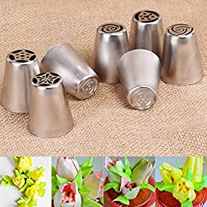 Tangchu russia icing piping nozzles pastry for 3d printer cake decoration