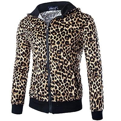 パーカー 欧米風 人気新品 ヒョウ柄 メンズファッション 大きいなサイズ 欧米風 高品質