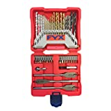 FYX Household Drill and Drive Mixed Set for Wood, Metal and Masonry (40 pcs) (Tamaño: 40-Piece Set)
