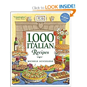 Click to buy Italian Cookbooks: 1,000 Italian Recipes from Amazon!