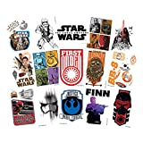 Star Wars The Force Awakens Temporary Tattoos (Set of 15 Sheets) (Includes BB-8, Finn, Rey, and Kylo Ren)