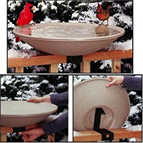 Heated Bird Bath