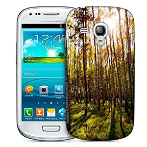 Snoogg Clean Forest Designer Protective Phone Back Case Cover For Samsung Galaxy S3 Mini