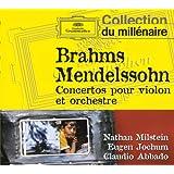 Brahms / Mendelssohn : Concertos Pour Violon