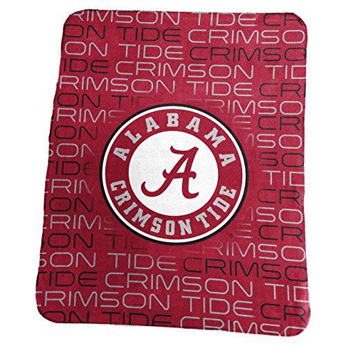 Alabama Crimson Tide 50 x 60 Classic Fleece Throw - Crimson Alabama Fleece Throw