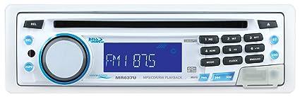 Boss Audio Systems MR637U Autoradio CD/DVD Blanc