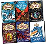 Cressida Cowell How to Train Your Dragon 6 Books Collection Pack Set Book 7 to12 (How to Ride a Dragon's Storm, How to Break a Dragon's Heart, How to Steal a Dragon's Sword, How to Seize a Dragon's Jewel, How to Betray a Dragon's Hero, The Incomplete Boo