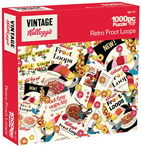 Karmin International Kelloggs Retro Froot Loops Puzzle (1000-Piece)
