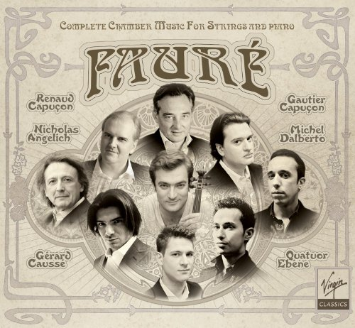 Various - Fauré Complete chamber music for strings
