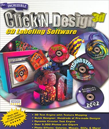 Click'N Design 3D CD Labeling Software