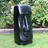 Large Easter Island Statues - Man Head - Garden Sculptures
