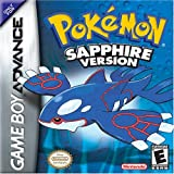 Pokemon Sapphire Version - Game Boy Advance (Color: Blue)