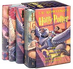 Harry Potter Hardcover Boxed Set (Books 1-4)