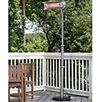 Fire Sense Telescoping Infrared Indoor/Outdoor Heater with Offset Pole-p by Fire Sense