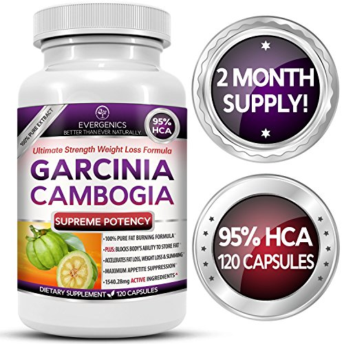 Evergenics Garcinia Cambogia Extract Weight Loss Formula - 120 Capsule (Earthwell Omega compare prices)