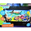 Discovery Kids Animated Tropical Fish Marine Aquarium Lamp 360 Degree Animated LED Built-in Sleep Function Shuts Lamp Off After 30 Minutes