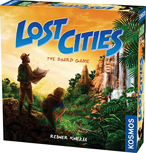Lost Cities - The Board Game (Keltis Board Game compare prices)