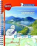 Germany, Benelux, Austria, Switzerland, Czech Republic 2015- A4 Spiral Atlas (Michelin Tourist and Motoring Atlas)