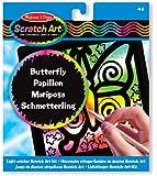 Melissa & Doug Scratch Magic Butterfly Light Catcher Fun Kit