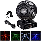 AW 9x12W RGBW 4in1 LED Moving Head Beam Light Magic Ball Stage Light Party Ballroom Club Bar (Color: 9x12W 4CH)