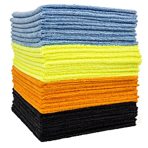 dry rite 39 s best edgeless wonder microfiber cloth multi pack of mixed color cleaning towels for. Black Bedroom Furniture Sets. Home Design Ideas