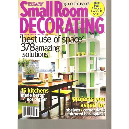 country almanac small room decorating magazine best use of space
