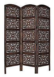 Aarsun Woods Wooden MDF partition/screen 3 Panel