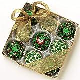 BOX OF 9 OREO'S Dark Chocolate and White Chocolate St. Patrick's Day Assortment
