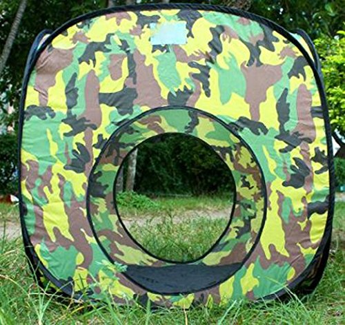 Outdoor Indoor Play House Tent Tunnel,LifeVC Child Playhouse,Play Tent Set for Toddlers Child Kids(Color:Camouflage) - Perfect Christmas Gift For Child