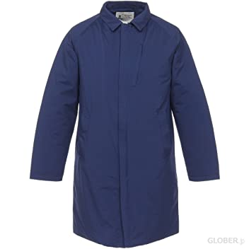 Highland Park Breath Thermo Balmacaan Coat D2JE5510: Navy