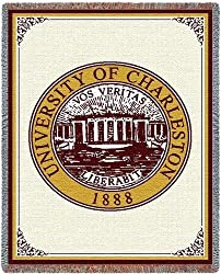 Univ of Charleston - 69 x 48 Blanket/Throw - Charleston Cougars