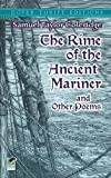 The Rime of the Ancient Mariner and Other Poems (0486272664) by Coleridge, Samuel Taylor