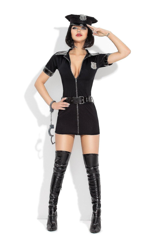 AmazingGirl Sexy 5 teil. Kostüm Polizistin Damenkostüm Polizei Police Karneval Fasching (y5276) online bestellen